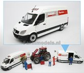 CASE-SERVICE-basic-Mercedes-Benz-Sprinter-WIT-+-opdruk-Case-Service-1:32--MM1905-01-R