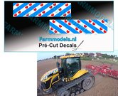 Friese-Vlag-stickers-2-stuks-30-x-121-mm-Pré-Cut-Decals-1:32-Farmmodels.nl