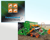 4x-LOGO-AMAZONE-ORANJE--WIT-stickers-op-Transparant-3-mm-hoog-Pré-Cut-Decals-1:32-Farmmodels.nl