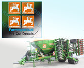 4x-LOGO-AMAZONE-ORANJE--WIT-stickers-op-Transparant-16-mm-hoog-Pré-Cut-Decals-1:32-Farmmodels.nl