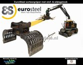 Dirty:-EUROSTEEL-SORTEERGRIJPER-ES-SSG-600-ZD-Xtra-past-aan-snelwissel--Tiltrotator-S6-S60--1:32--AT3200105-D