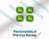 John-Deere-LOGO-(New)-4x-4mm-hoog-stickers-met-omhoog-springend-Hertje-Pré-Cut-Decals-1:32-Farmmodels.nl