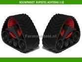 BOUWKIT-ROOD-Rupsset-ACHTERAS-28.4-mm-wide-met-wielstel-1:32-01315-R