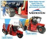 Plaatsen-2x-Vredestein-Flotationtrac-750-45-R265-op-VERVAET-Hydro-Trike-XL-1:32-Marge-Models