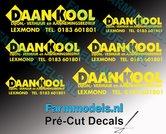 DAAN-KOOL-COMBI-stickerset-6x-GEEL-op-transparante-folie-Pré-Cut-Decals-1:32-Farmmodels.nl
