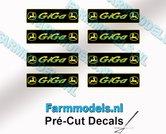 GiGa-COMBI-stickerset-8x-GEEL--GROEN--ZWART-op-folie-Pré-Cut-Decals-1:32-Farmmodels.nl